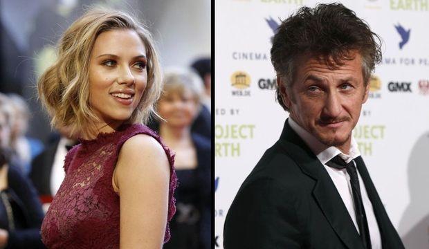 Scarlett Johansson Sean Penn-