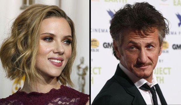 Scarlett Johnasson, Sean Penn montage-