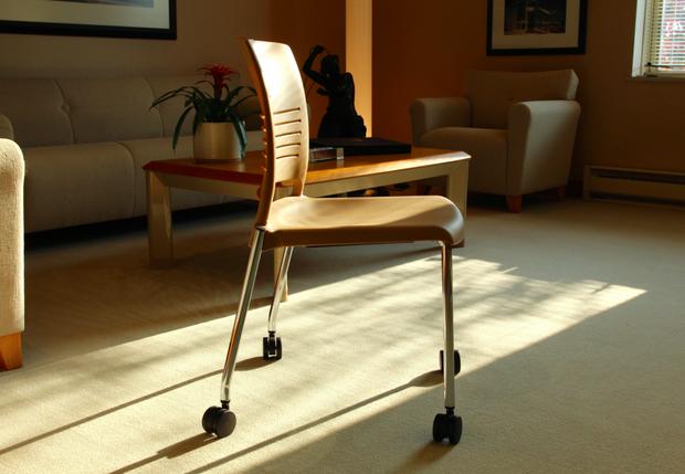 Une chaise pour s'assoir sur le méthane.
