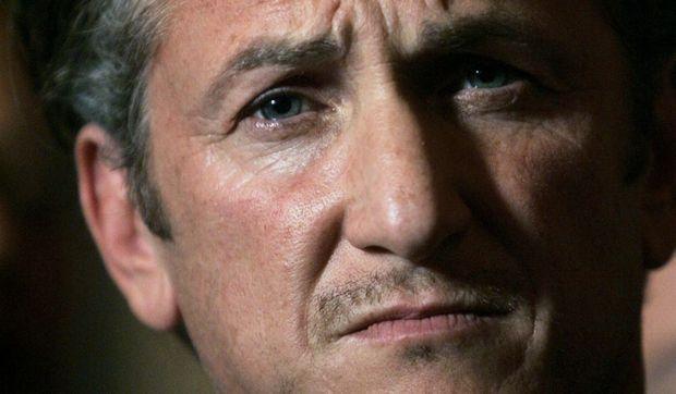 Sean Penn gros plan-