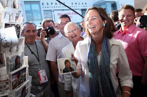 Elles ne se sont jamais aimées (ici en 2010). Ségolène Royal a mal digéré le congrès de Reims, en 2008, où Martine Aubry lui a ravi la tête du PS.
