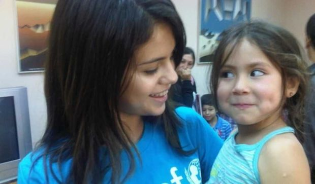 Selena Gomez au Chili pour l'Unicef-