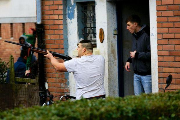 Selon la famille, l'arme braquée par Gaël serait une carabine à billes.