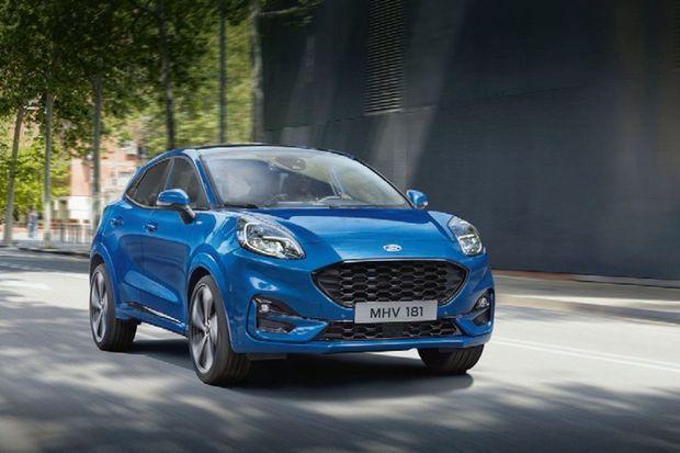Selon une récente enquête, 53% des Français seraient tentés par un véhicule carburant à l'E85 comme ce Ford Puma Ecoboost (à partir de 23300 €)