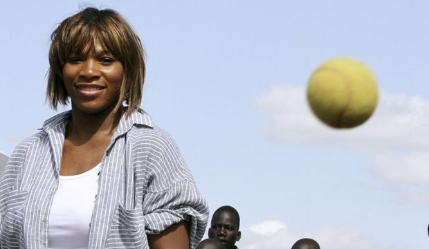serena williams kenya-
