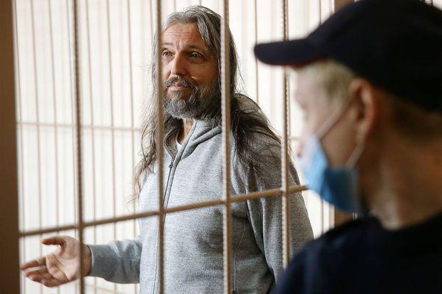 Sergei Torop, derrière les barreaux, le 23 septembre.