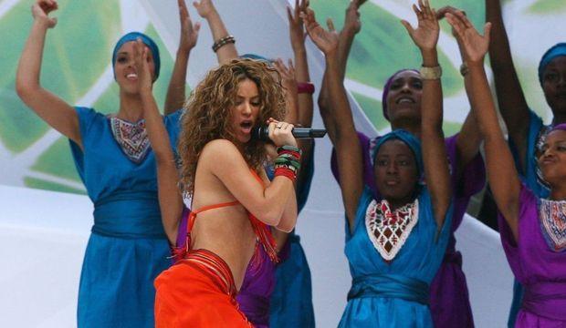 Shakira cérémonie de cloture coupe du monde 2006-