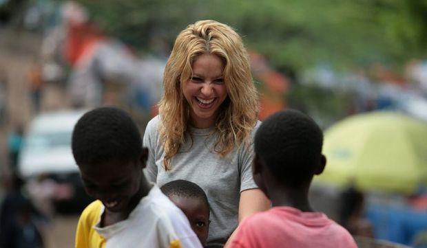 Shakira en Haïti-