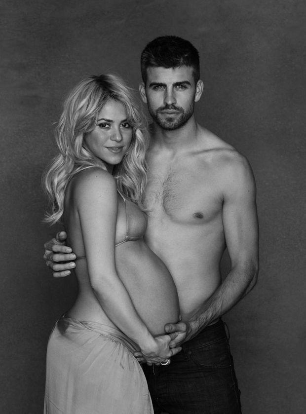 Shakira et Gerard Piqué (ne pas réutiliser)-