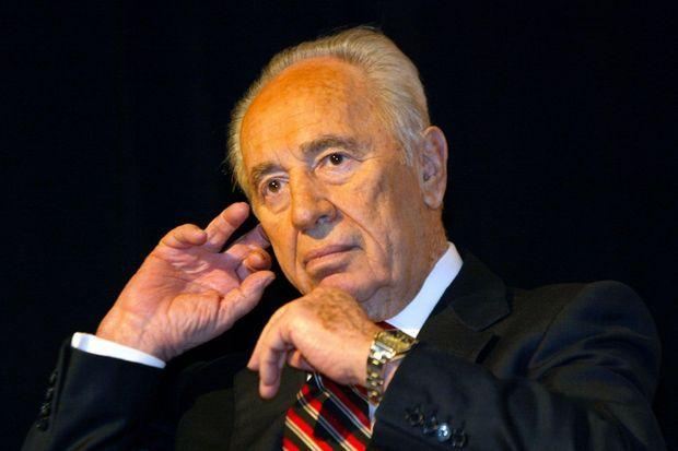 Shimon Peres en 2005