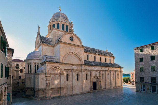 La cathédrale Saint-Jacques de Šibenik.