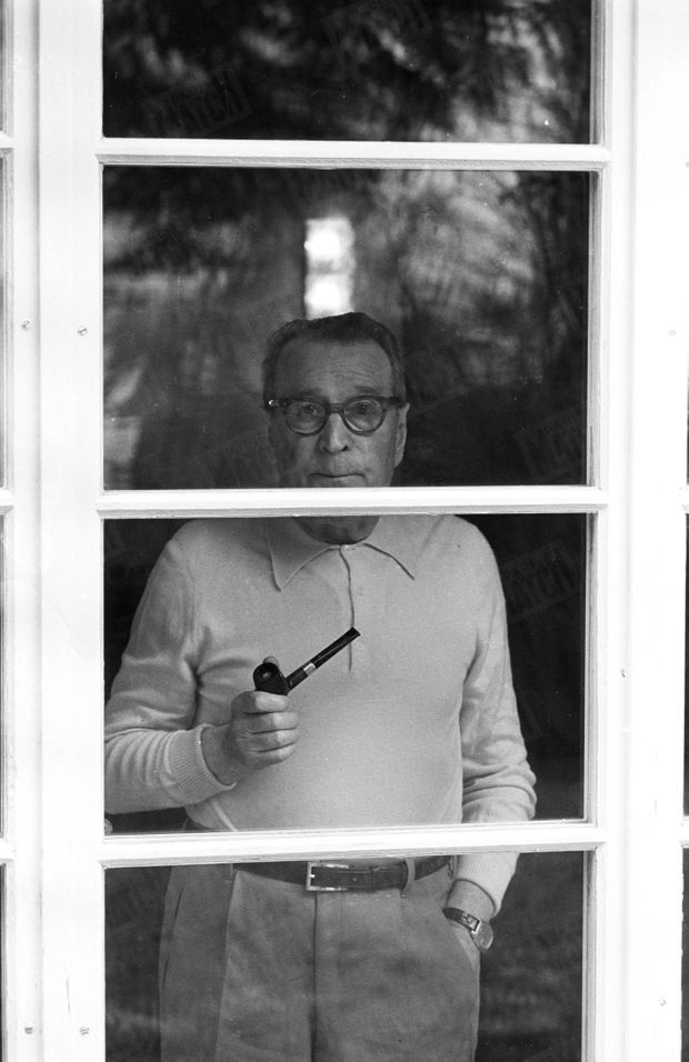 Georges Simenon en janvier 1978.