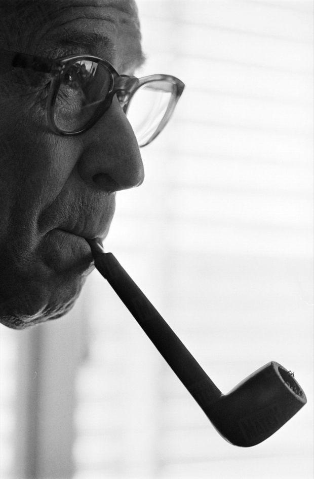 Georges Simenon en mars 1967