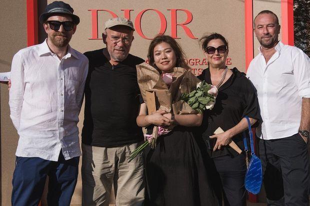 Simon Baker, Peter Lindbergh, Yoonkyung, Jang-Maja Hoffmann, Jérôme Pulis.