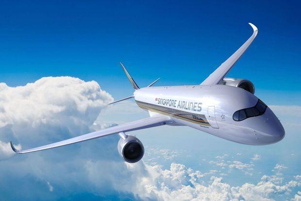 L'A350 de la compagnie Singapour Airlines
