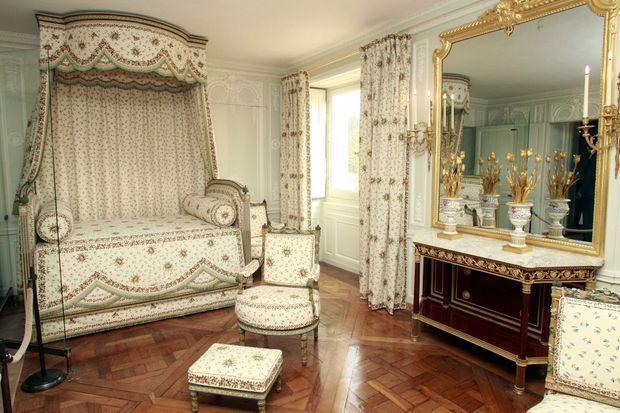La chambre de Marie-Antoinette au Petit Trianon en 2008, après sa restauration