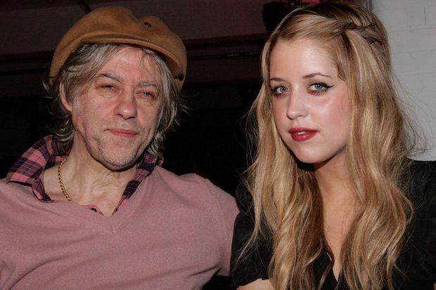 Bob et Peaches Geldof en février 2009