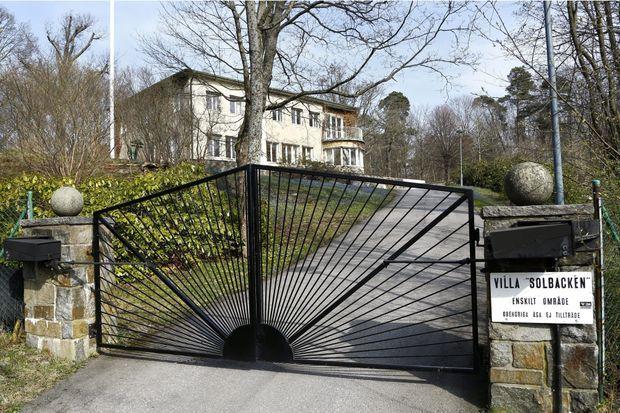 La Villa Solbacken à Stockholm dont le prince Carl Philip de Suède a hérité de son grand-oncle le prince Bertil