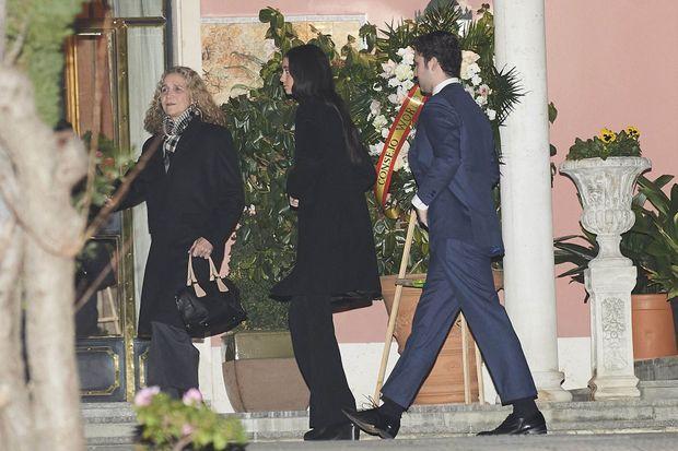 L'infante Elena d'Espagne et ses enfants à Madrid, le 8 janvier 2020