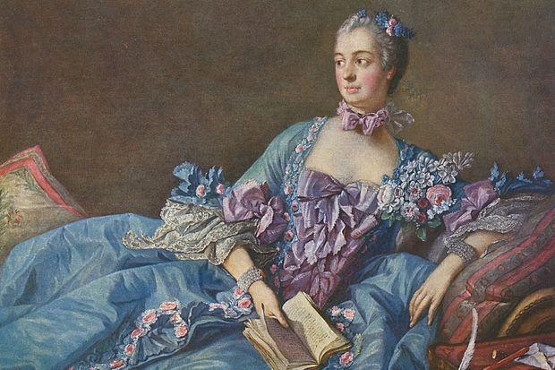 La marquise de Pompadour, favorite de Louis XV