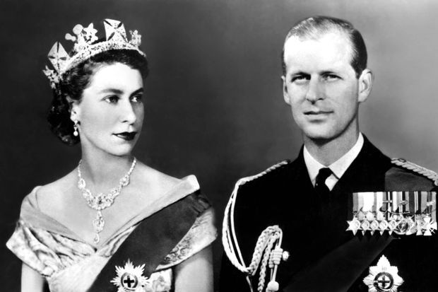 La reine Elizabeth II et le prince Philip en 1953