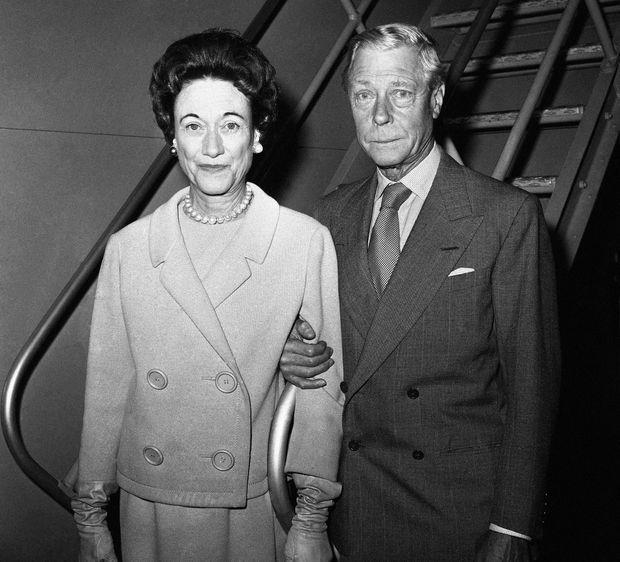 Le duc et la duchesse de Windsor à New York, le 12 mai 1961