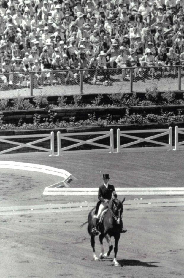 La princesse Anne aux JO de Montréal, le 22 juillet 1976