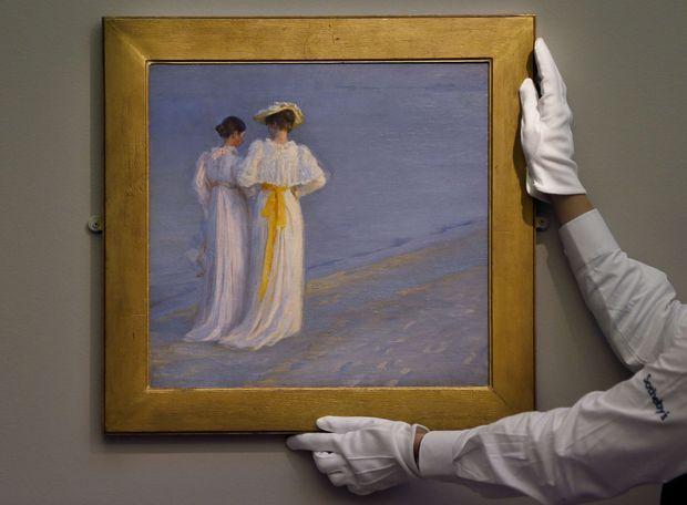 Une toile de Peder Severin Krøyer vendue chez Sotheby à Londres en 2012