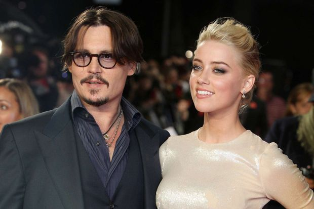Johnny Depp et Amber Heard en 2011