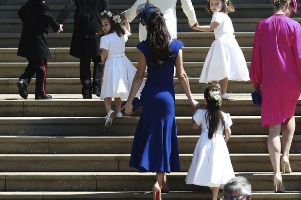 Jessica Mulroney lors du mariage de Meghan et Harry, le 19 mai 2018.
