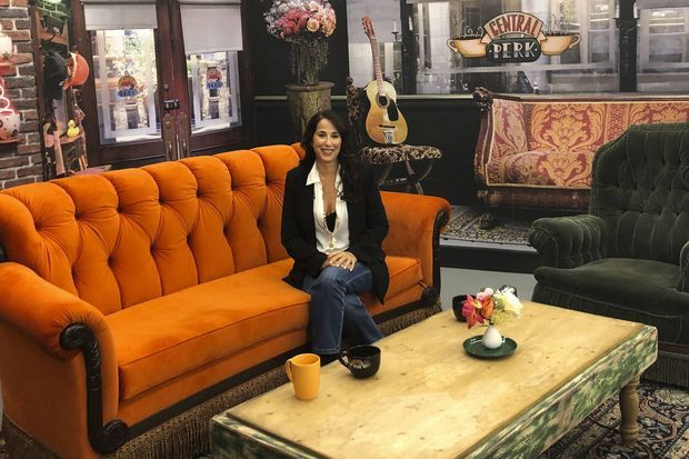 Maggie Wheeler en septembre 2019 à New York lors d'un événement célébrant les 25 ans de «Friends».