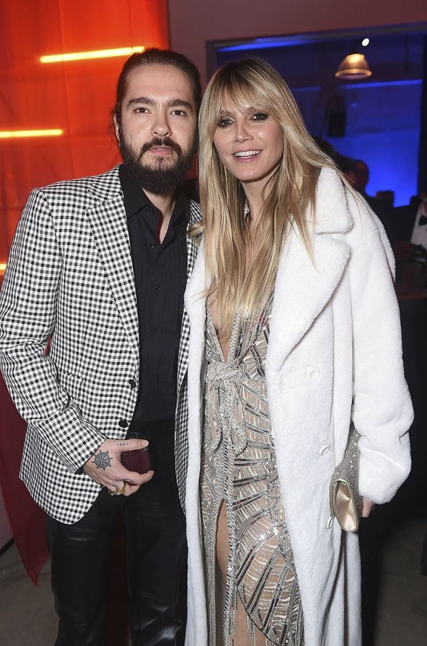 Tom Kaulitz et Heidi Klum