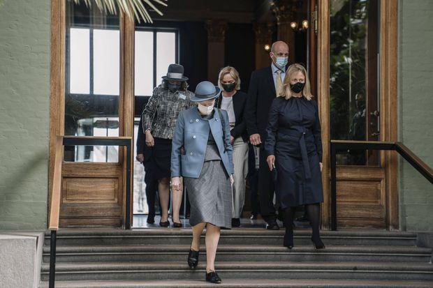 La reine Margrethe II de Danemark à Copenhague, le 21 avril 2021