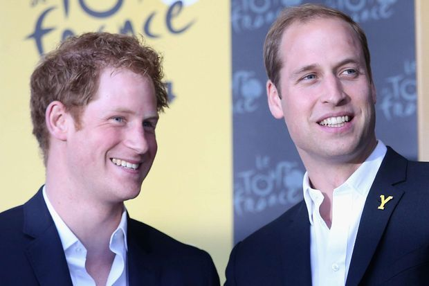 Harry et William en 2014