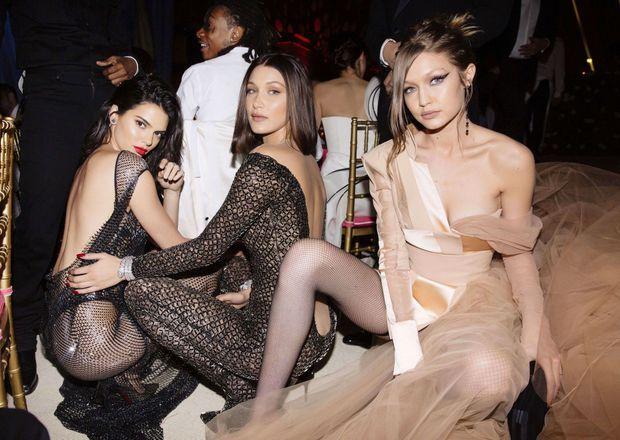 Kendall Jenner, Bella Hadid et Gigi Hadid