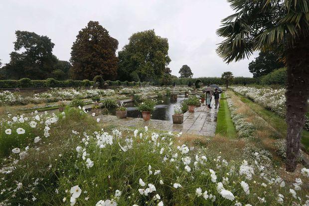 Le Sunken Garden à Kensington Palace
