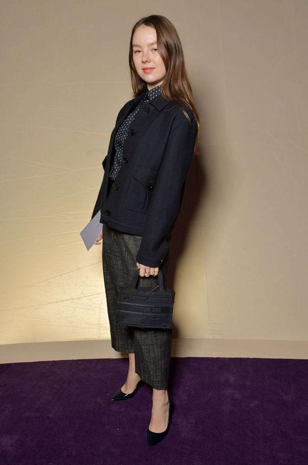 La princesse Alexandra de Hanovre au défilé Dior à Paris, le 20 janvier 2020