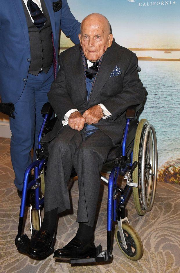 Ian Holm lors de sa dernière apparition en janvier 2020