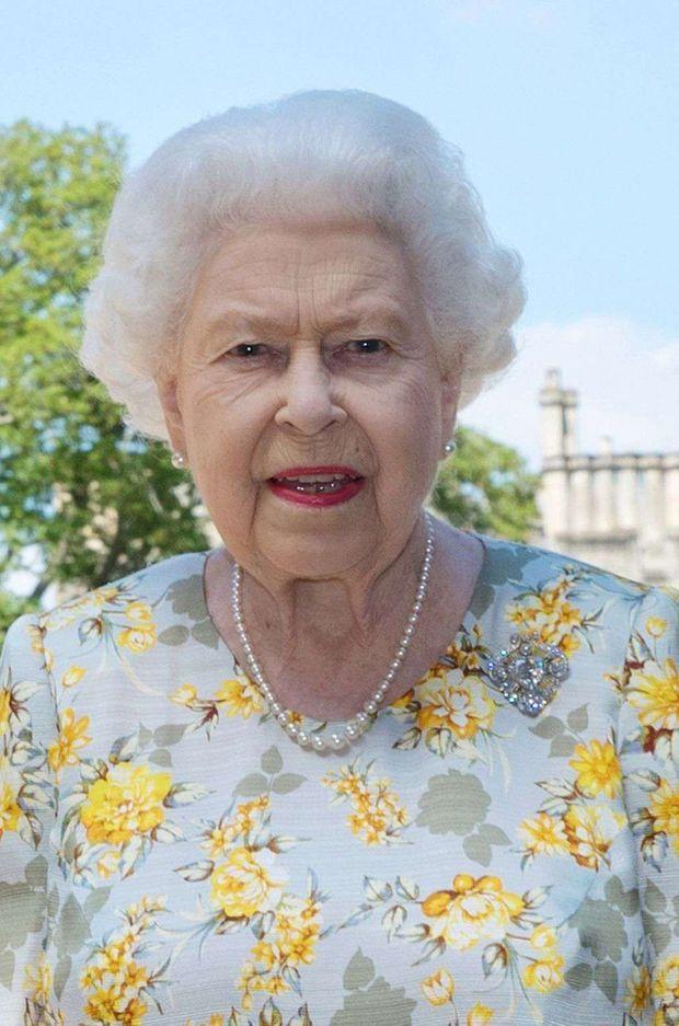 Détail du portrait officiel du prince Philip pour ses 99 ans avec sa femme la reine Elizabeth II, diffusé le 10 juin 2020