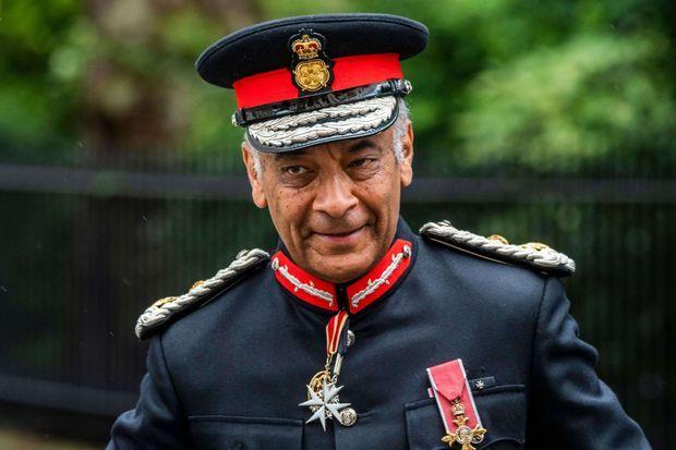 Kenneth Olisa, le Lord-Lieutenant du Grand Londres, le 18 juin 2020