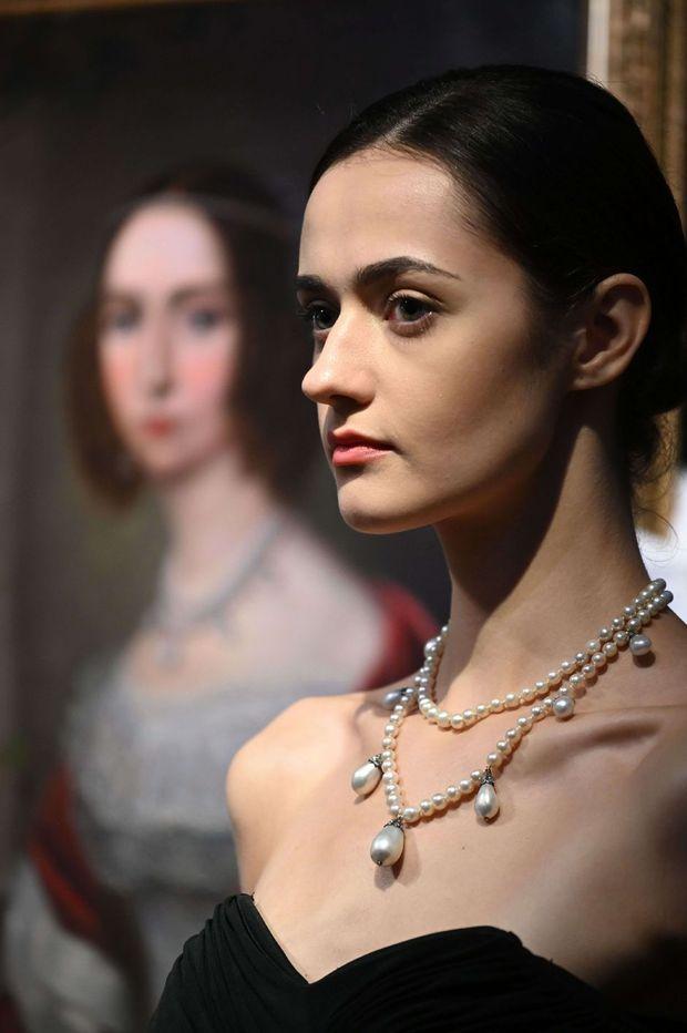 Le collier de Leuchtenberg de la reine Joséphine de Suède et de Norvège sera revendu aux enchères par Sotheby's le 12 octobre 2021 à Hong Kong