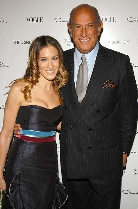 Sarah Jessica Parker et Oscar de la Renta