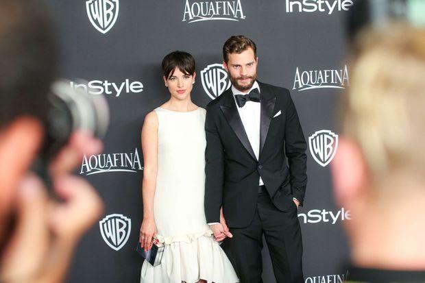 Amelia Warner et Jamie Dornan, le nouveau couple glamour d'Hollywood.