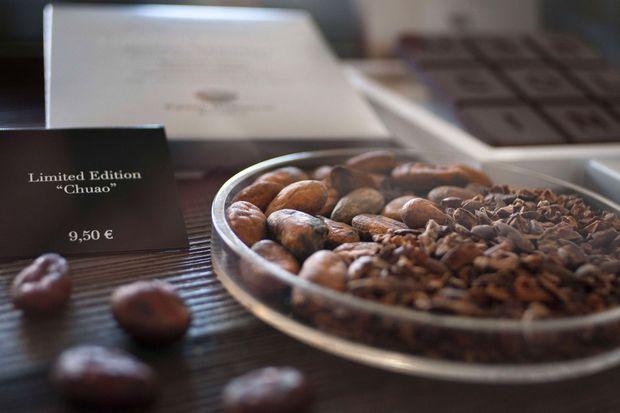 La chocolaterie Pierre Marcolini.