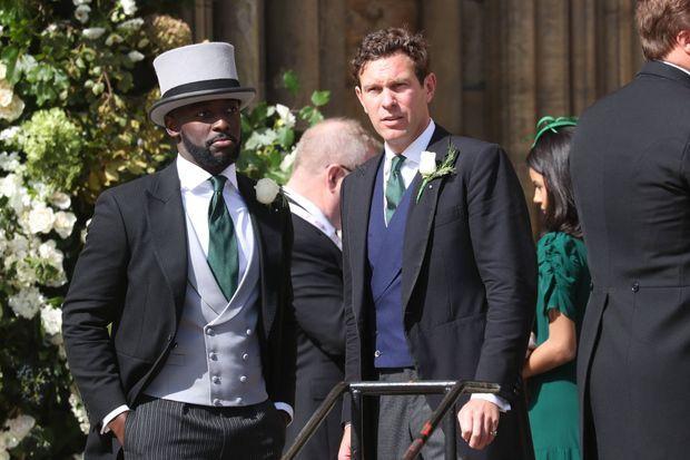 Jack Brooksbank, époux de la princesse Eugenie d'York, à York le 31 août 2019