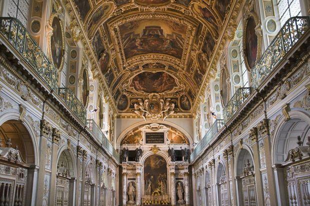 La chapelle de la Trinité du château de Fontainebleau