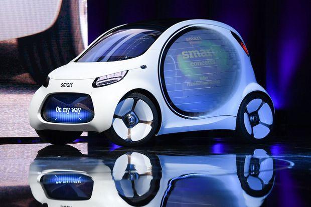 La Smart Vision EQ Fortwo est une micro-citadine électrique et autonome.