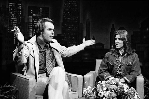 Dan Aykroyd et Carrie Fisher en 1978 dans le «Saturday Night Live»