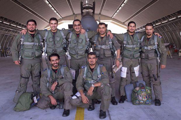 Les soldats saoudiens qui participent aux frappes aériennes.