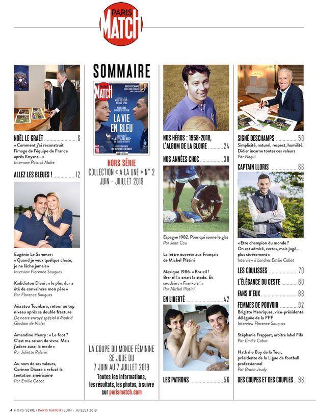Au sommaire de notre hors-série anniversaire « La Vie en Bleu », 100 pages de photos et d'anecdotes exclusives...